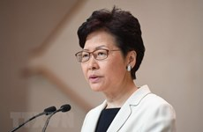 Trung Quốc: Trưởng Đặc khu hành chính Hong Kong tới Bắc Kinh