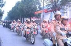 Cảnh sát giao thông toàn quốc đồng loạt ra quân đợt cao điểm