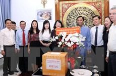 Phó Chủ tịch nước chúc mừng Giáng sinh tại Thành phố Hồ Chí Minh