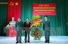 Tăng cường mối quan hệ kết nghĩa giữa TTXVN và Sư đoàn 304
