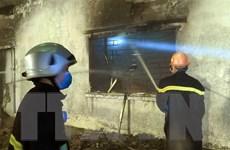 Xác định nguyên nhân gây ra cháy lớn tại xưởng đế giày ở Hải Phòng