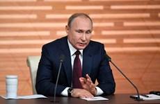 Tổng thống Putin họp báo: Hé lộ chính sách đối ngoại của Nga