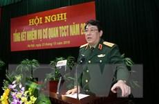 Cơ quan Tổng cục Chính trị bám sát nhiệm vụ quân sự, quốc phòng