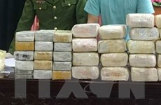Triệt phá đường dây ma túy lớn, thu 18kg ma túy đá và 30 bánh heroin