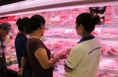 Hà Nội cơ bản đáp ứng đủ nhu cầu thịt lợn dịp Tết Nguyên đán