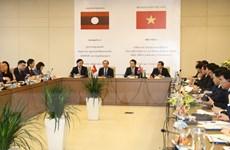 Việt Nam-Lào đẩy mạnh công tác ngoại giao kinh tế trong tình hình mới
