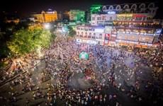 Phố đi bộ hồ Hoàn Kiếm chính thức hoạt động từ ngày 1/1/2020