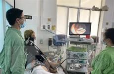 Cứu sống bệnh nhân xuất huyết tiêu hóa dưới ồ ạt bằng kẹp clip cầm máu