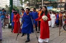 Lễ cưới tập thể cho 50 cặp vợ chồng khuyết tật có hoàn cảnh khó khăn