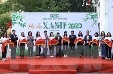 Hội chợ Xanh TTXVN: Lan tỏa thông điệp phòng chống rác thải nhựa