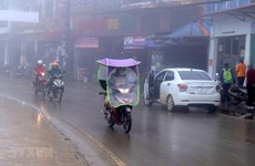 Vùng núi phía Bắc rét đậm, nhiệt độ thấp nhất ở Hà Nội là 13 độ C