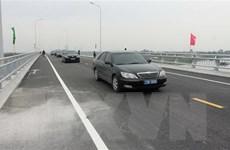 Thông xe kỹ thuật tuyến đường liên tỉnh Thái Bình và Hưng Yên