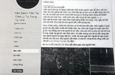 Triệu tập người đăng tin sai về 'nhóm mặt đen' ở thành phố Vinh