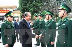 Phó Thủ tướng Trương Hòa Bình thăm và tặng quà Tết tại Hà Giang