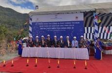 Xây dựng cụm công trình cửa xả dự án thủy điện tích năng Bác Ái