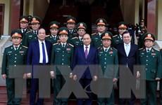 Thủ tướng kiểm tra công tác ứng trực sẵn sàng chiến đấu tại Quân khu 5