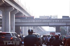 Không khí Hà Nội lại ô nhiễm nặng, ở mức rất có hại cho sức khỏe
