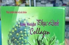 Bộ Y tế cảnh báo thực phẩm Loss Weight Phục Linh Collagen bị làm giả