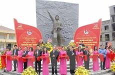 Khánh thành công trình Tượng đài Anh hùng liệt sỹ Nguyễn Viết Xuân