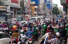 Ùn tắc kéo dài ở các tuyến đường khu vực sân bay Tân Sơn Nhất