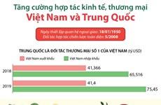 Tăng cường hợp tác kinh tế, thương mại Việt Nam và Trung Quốc