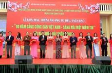 Triển lãm ảnh, tư liệu về Đảng và khai mạc Hội báo Xuân Hải Phòng 2020