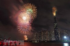 Thành phố Hồ Chí Minh bắn pháo hoa tại 7 điểm mừng Tết Nguyên đán