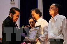 Tỉnh ủy Cà Mau trao Huy hiệu Đảng tặng 43 đảng viên cao niên