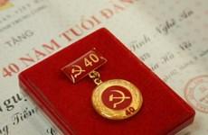 Thành phố Hồ Chí Minh: Trao huy hiệu Đảng cho 2.611 đảng viên