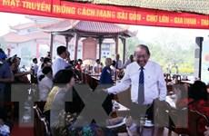 Họp mặt truyền thống cách mạng Sài Gòn-Chợ Lớn-Gia Định dịp đầu Xuân