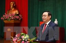 Phó Thủ tướng Vương Đình Huệ 'xông đất' Kho bạc Nhà nước