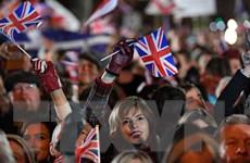 [Photo] Những người ủng hộ Brexit vui mừng khi Anh chính thức rời EU