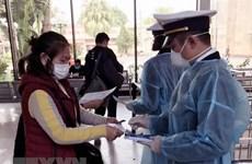 91 hành khách Trung Quốc trở về nước trên chuyến tàu liên vận MR1
