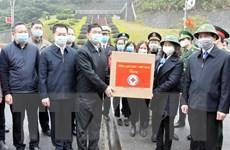 Tặng 350.000 chiếc khẩu trang cho Khu tự trị dân tộc Choang Quảng Tây