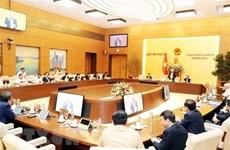 Phiên họp thứ 42 của Ủy ban Thường vụ Quốc hội sẽ khai mạc ngày 10/2