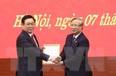 Thành ủy Hà Nội công bố quyết định của Bộ Chính trị về công tác cán bộ