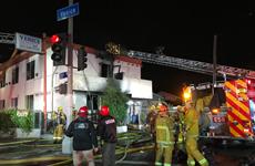 Cháy khách sạn tại thành phố Los Angels của Mỹ, 8 người thương vong