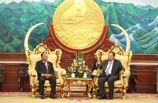 Tổng Bí thư, Chủ tịch nước Lào thăm chính thức Campuchia