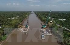 Tiền Giang: Đầu tư khẩn cấp hơn 7,6 tỷ đồng cho công trình chống mặn