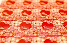 [Photo] Thú vị bộ 'Tem tình yêu' phát hành đúng ngày Valentine