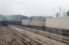 Xuất khẩu 460 tấn nông sản qua cửa khẩu ga đường sắt quốc tế Đồng Đăng
