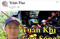 Phạt chủ tài khoản Facebook chia sẻ video xuyên tạc về vụ 'Tuấn khỉ'