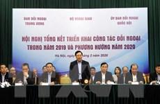 Thực hiện tốt một số nhiệm vụ lớn trong công tác đối ngoại năm 2020