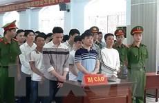 Phạt tù nhóm đối tượng giết người do mâu thuẫn khi đánh bạc