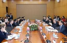Trưởng Ban Kinh tế TW tiếp đoàn Hội đồng Kinh doanh Hoa Kỳ-ASEAN