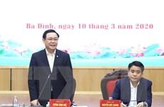 Bí thư Hà Nội làm việc với quận Ba Đình về phòng dịch COVID-19