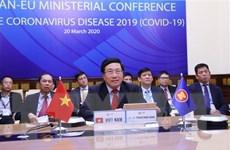 ASEAN-EU tích cực tăng cường hợp tác ứng phó với dịch COVID-19
