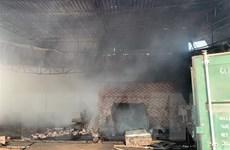 Kịp thời khống chế hai vụ cháy tại hai công ty ở Bình Dương