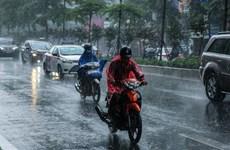 Ảnh hưởng không khí lạnh, Hà Nội có mưa vào ngày cuối tuần