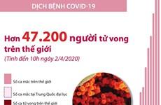 [Infographics] Hơn 47.200 người trên thế giới tử vong vì COVID-19
